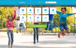 Screenshot website Kwikstart