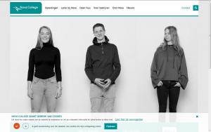 Screenshot website Nova College