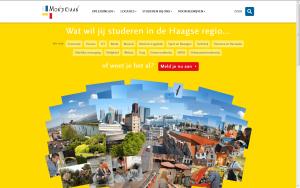 Screenshot website ROC Mondriaan
